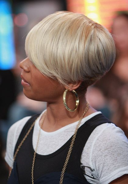 Short Haircut Of Keyshia Cole Short Hair Don T Care