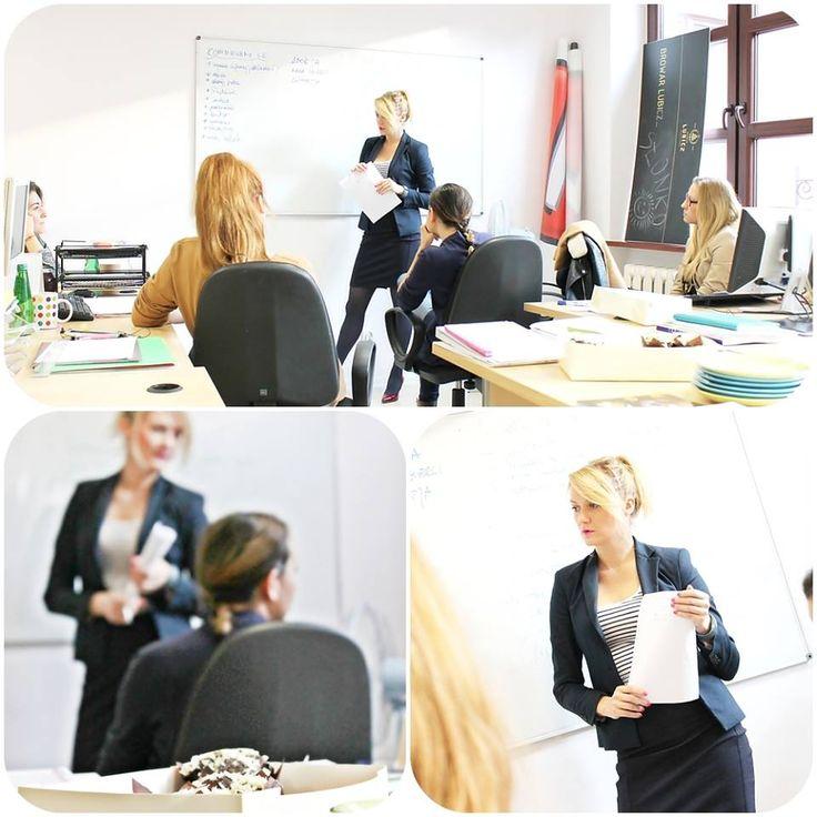 Nasza Dyrektor Zarządzająca Marta Hycnar przeprowadziła szkolenie z komunikacji interpersonalnej. Było inspirująco i merytorycznie Emotikon smile