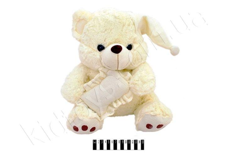 Ведмедик муз. з подуш. JJ 059340, куклы интерактивные, игрушки динозавры купить, купить куклу, интернет магазин игрушек киев украина, коляски трости, мягкие игрушки коты
