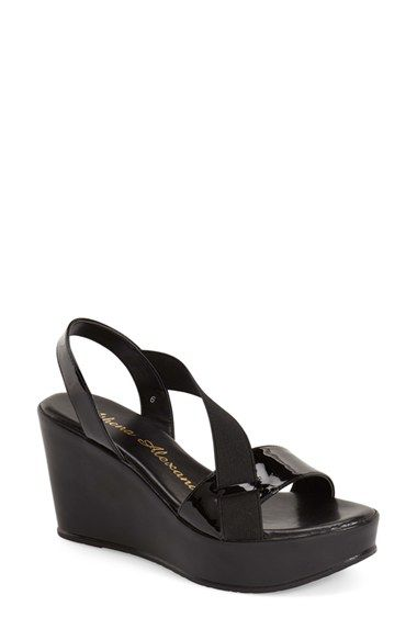 Free shipping and returns on Athena Alexander 'Koko' Wedge Sandal (Women) at