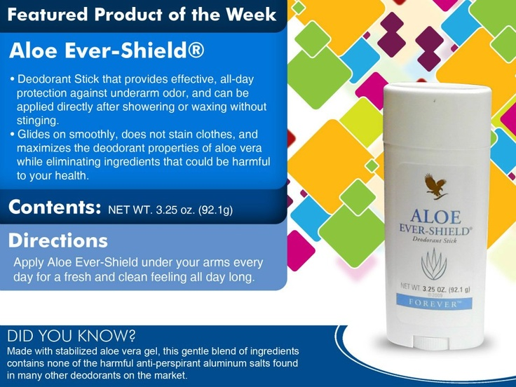 Never put harmful chemicals under your arms again!  Provides excellent deodorant protection.