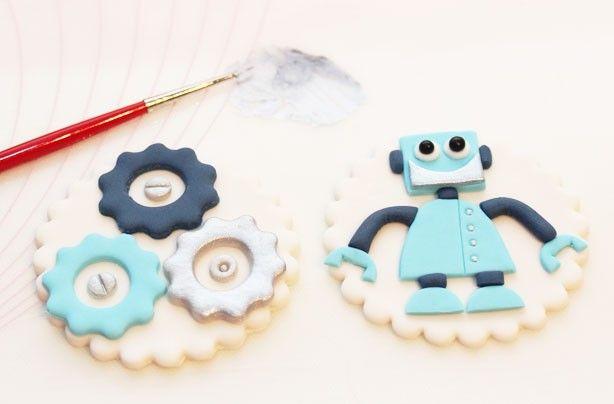 Robot cupcakes - goodtoknow