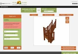 design your own staircase and landing banister online