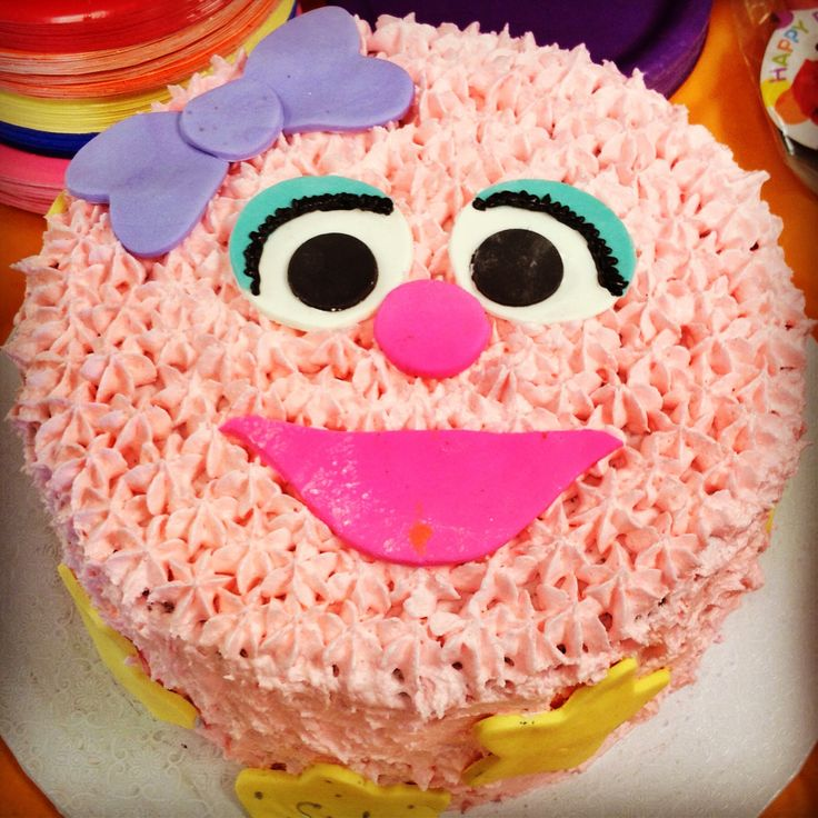 Best Coras Rd Elmo  Abby Bday Images On Pinterest - Elmo and abby birthday cake