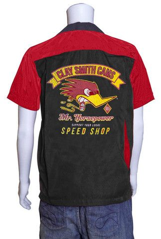 Mens Button up - Mr Horsepower Support Local Speed Shop Bowler Shirt – PoisonKandyKlothing