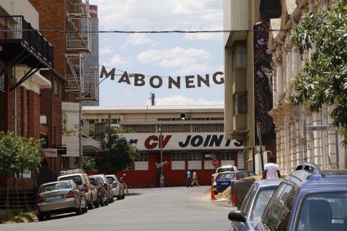 Um passeio pelas ruas de Maboneng