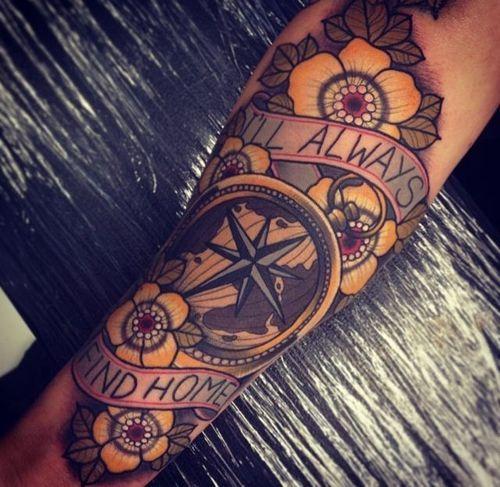 Tattoos, Star Tattoos, Traditional