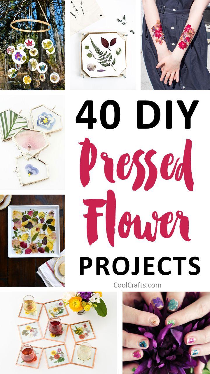 40 stunning pressed flower art ideas cool crafts