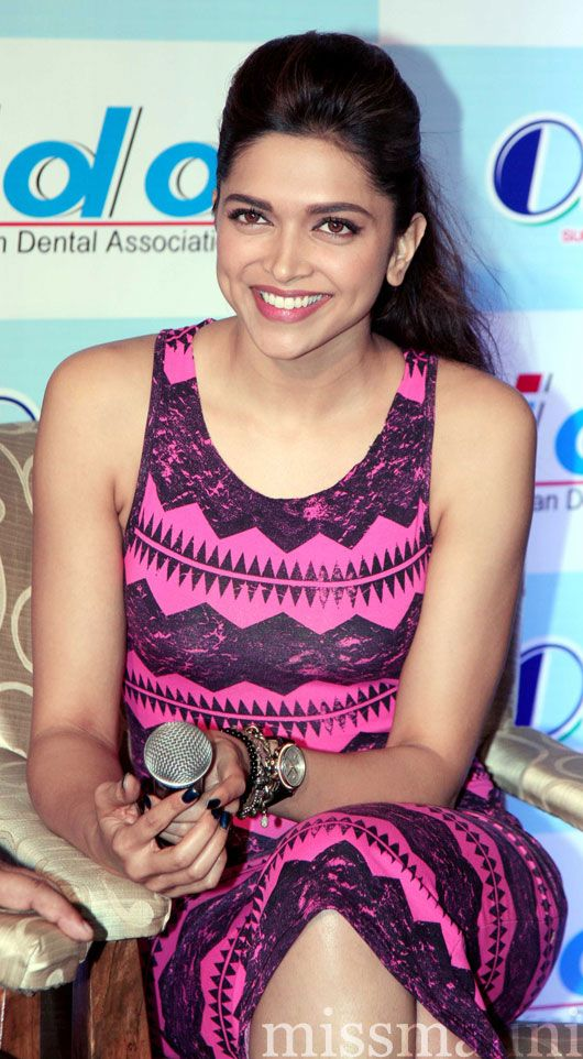 Deepika Padukone; she's gorgeous & her hair is to die forrr