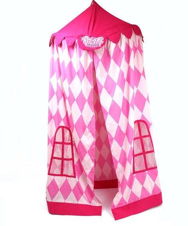 Instant palace! Pink Princess Canopy by My Princess Academy on #zulily today!