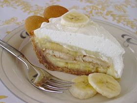 Lick The Bowl Good- Banana Cream pie with Nilla Wafer crust