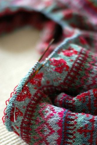 522 best fair isle images on Pinterest | Knitting, Embroidery and ...