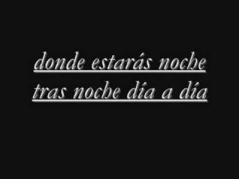 lyrics ricchi e poveri-donde estaras.wmv