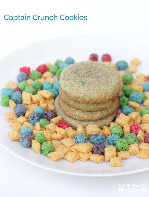 Cap'n Crunch Cookies Recipe #QuakerTime