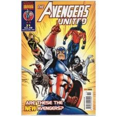 The Avengers United #21 from Marvel/Panini Comics UK. 18th December 2002 issue. In very good condition internally and cover. Bagged and boarded. £2.00