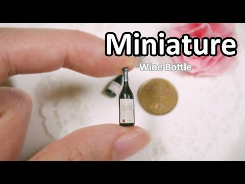 Miniature Wine Bottle Tutorial