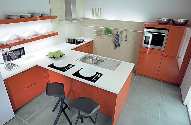 17 best ideas about modelos de cocinas modernas on for Decoracion para cocinas pequenas