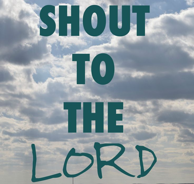Shout to the Lord, a song that always reminds me exactly who I am.