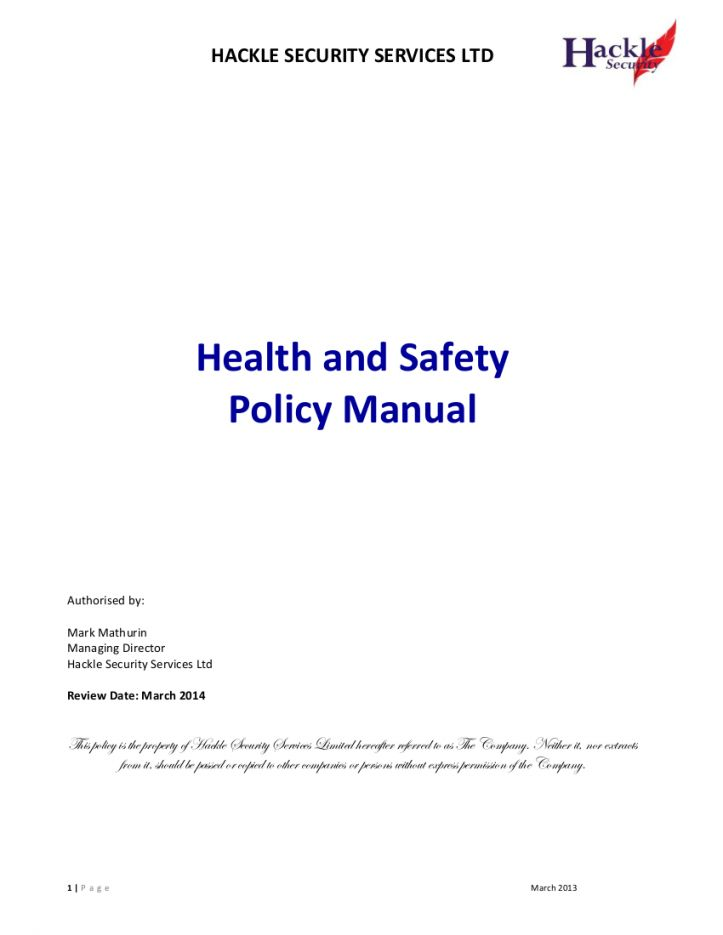 Pin On Policy Templates