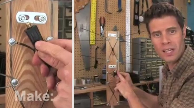 Easily disassemble a coat hanger to make an affordable antenna for your digital television. Stop fighting with your existing antenna and make your own.