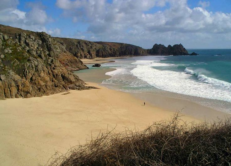 Porthcurnow Beach, Cornwall, UK - beautiful
