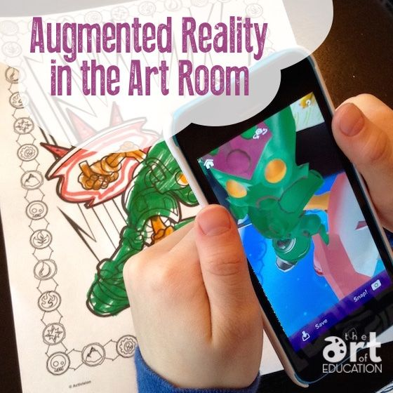 Augmented Reality Can be a Reality in Your Art Classroom