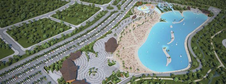 El proyecto estará situado en el municipio alcarreño de Alovera y contará con una lámina de agua de unos 25.000 metros cuadradosEl recinto se abrirá en menos de tres años y se espera que lo visiten 250.000 personas al año