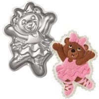 Balerın Ayı Pasta Kalıbı  Ballerina Bear Pan