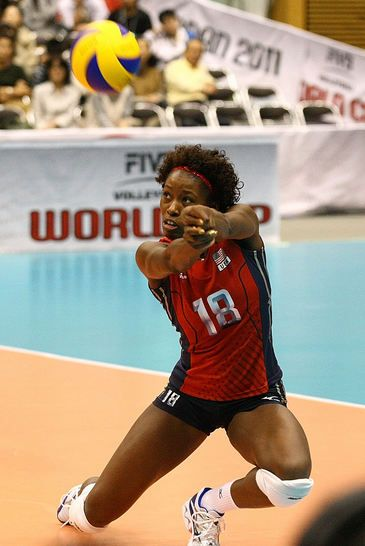 US Olympic Volleyball Star:  Megan Hodge