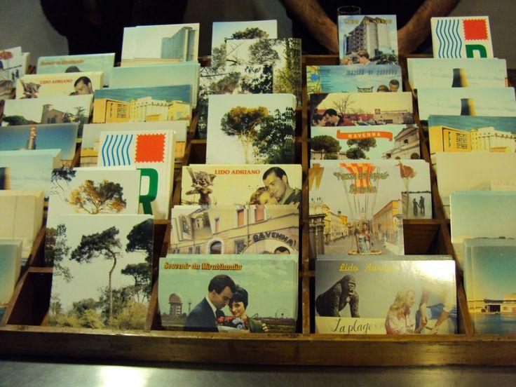Saluti da Ravenna, cartoline d'artista