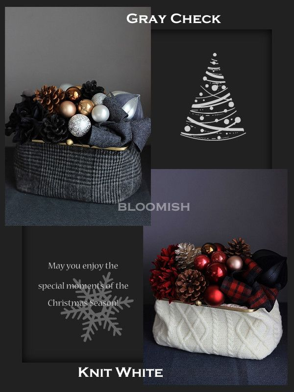 【募集】クリスマス・レッスン2016 の画像|bloomish東京・自由が丘・田園調布プリザーブドフラワー教室アーティフィシャルフラワー教室