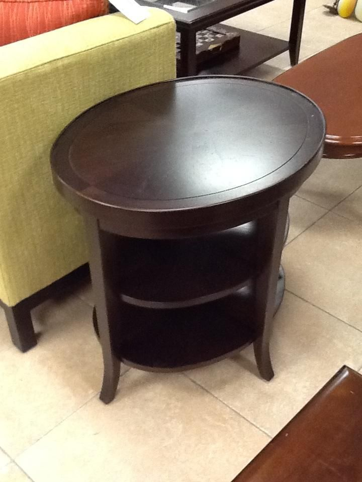 Oval End Table  168 Aurora