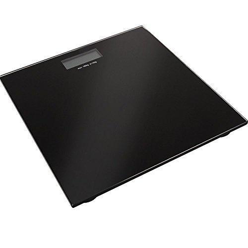 Oferta: 12.24€. Comprar Ofertas de Báscula digital de baño con plataforma de cristal templado, color negro [version:x8.4] by DELIAWINTERFEL barato. ¡Mira las ofertas!