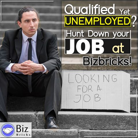 Are you tired of finding a suitable and well paying job for yourself? Your worry ends here! Apply and get selected in the best company of your choice and enjoy this absolutely smooth recruiting process for FREE! #BizBricks #Unemployment #JobSeekers #JobHunt #Online #Job #Portal