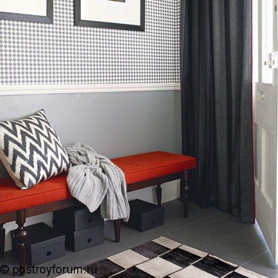 Прихожая серого цвета, дизайн интерьера, стены, мебель, фото примеры, видео | Все о дизайне и ремонте дома