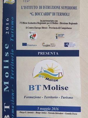 Molise turismo: in arrivo la fiera BT Molise il 5 6 e 7 maggio