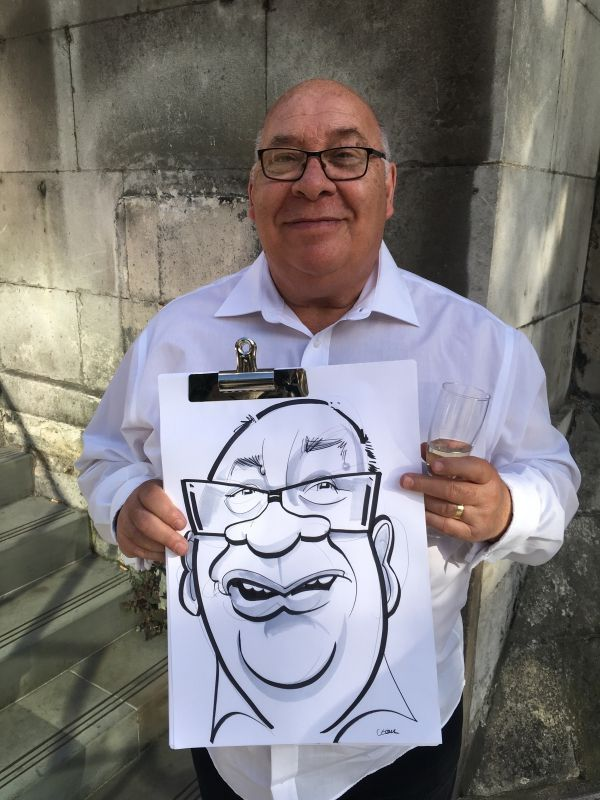 News about Spot On George & photos from his latest caricature parties and corporate events. Capturing smiles and spreading the laughter with his blog