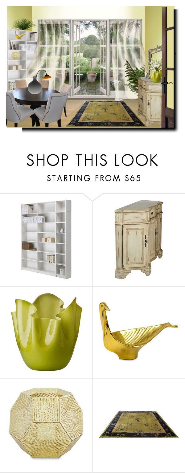 """colour illusion of space contest"" by barbara-gennari ❤ liked on Polyvore featuring interior, interiors, interior design, home, home decor, interior decorating, Venini, Jonathan Adler and Tom Dixon"