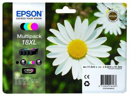 Epson T1816 XL Cartouche d'Encre d'Origine Claria Home Multipack Noir, Cyan, Magenta, Jaune Epson http://www.amazon.fr/dp/B008392IQE/ref=cm_sw_r_pi_dp_ZOG6vb0CSBZPH