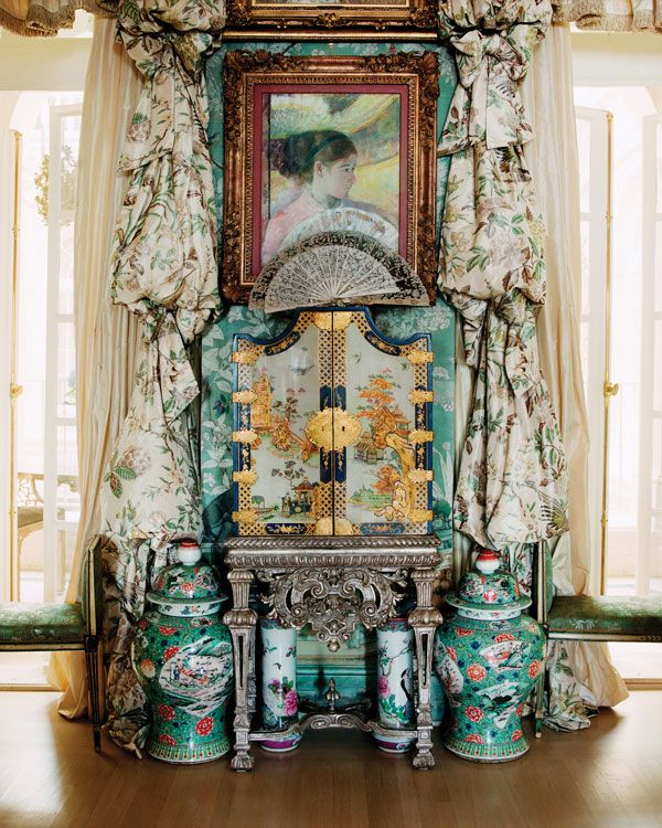 Only a very few pieces were actually made by Boulle, Getty notes. I  wasn't sure they were by him when we bought them, but now we know.