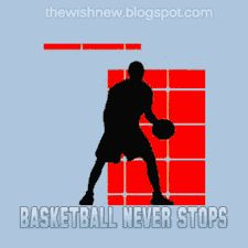 DP BBM Animasi Terbaru Versi Photoshop : Dp BBM Basketball Never Stops [Bola Basket]