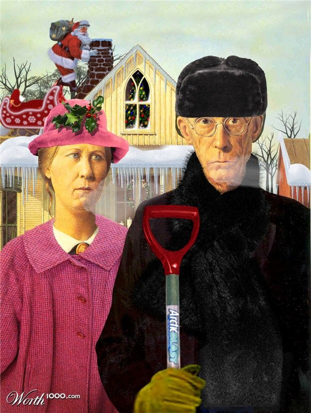American Gothic - Winter