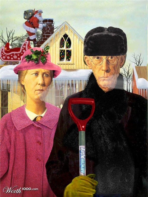 American Gothic - Winter