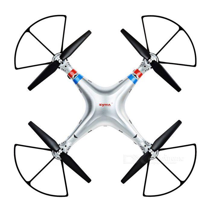 Syma X8G 2.4GHz 4-CH 6-Axis Gyroscope Quadcopter w/ 8.0MP Camera & 360' Tumble - Antique Silver