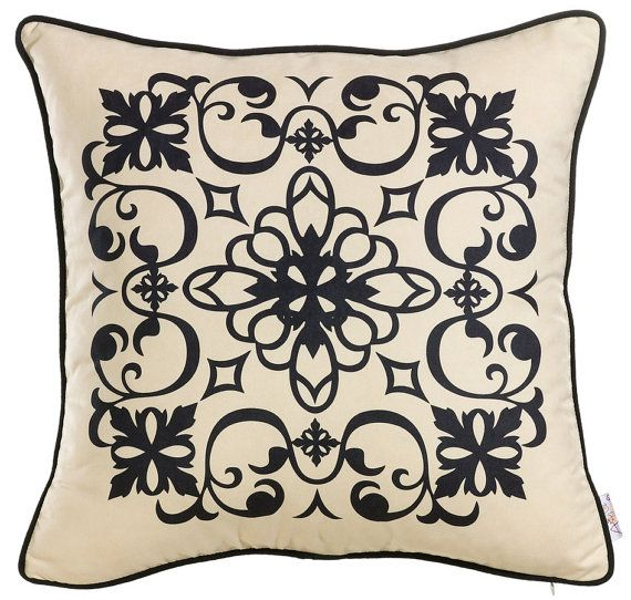 Apolena Nice Pillow Patterns 17x17 Pillow included by EscraftsHome, $33.90