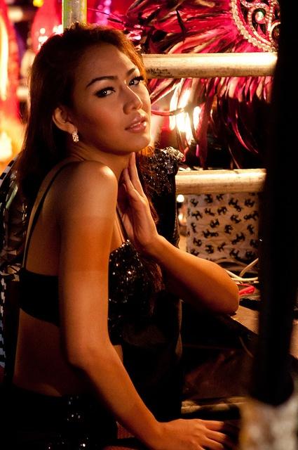 Ladyboys of Bangkok Backstage 4 by paulkondritz, via Flickr
