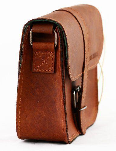 L'ESSENTIEL petit sac bandoulière en cuir couleur naturel PAUL MARIUS - Le Sac en Cuir