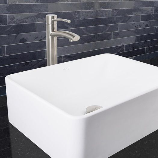 Found it at AllModern - Milo Single Lever Vessel Bathroom Faucet
