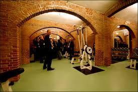 Fitnessruimte in de Koepel in Breda.