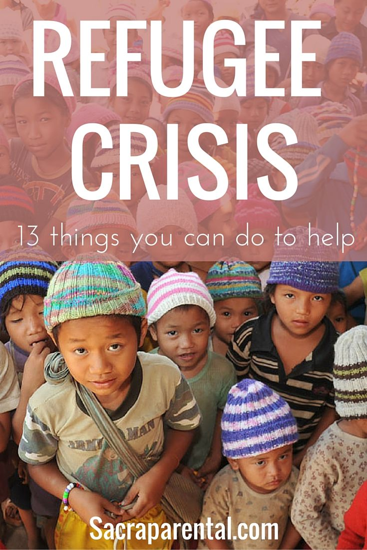 Have you cried over the refugee crisis? Here's what you can do to help: lots of great ideas and resources to make a difference, wherever you are.